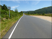 NS1082 : The B836 road at Glen Lean by Thomas Nugent