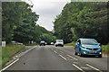 TG1540 : Crossroads on A148 Holt Road by Robin Webster