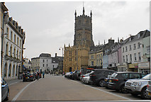SP0202 : Market Place, Cirencester by Bill Boaden