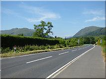 NS1482 : The A815 road at Dalinlongart by Thomas Nugent