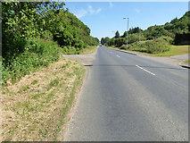 NS1581 : The A815 road at Sandbank by Thomas Nugent