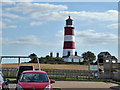 TG3830 : Happisburgh lighthouse by Robin Webster