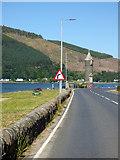 NS1780 : Lazaretto Point war memorial by Thomas Nugent