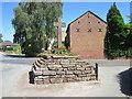 SJ5763 : Eaton Village Cross by Jeff Buck