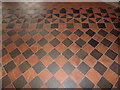 TM1134 : Tiled Floor of St.Michael the Archangel Church by Adrian Cable