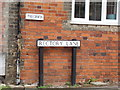 TM1134 : Rectory Lane sign by Adrian Cable