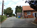 TM1134 : Church Lane, Brantham by Adrian Cable