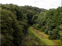SD7217 : A view from a railway viaduct by Philip Platt
