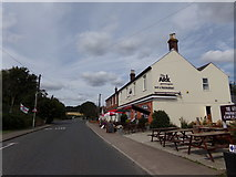 TM1033 : Cattawade Street & The Ark Bar & Restaurant by Adrian Cable