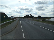 TM0932 : Entering Essex on the A137 The Causeway by Adrian Cable