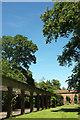 SE2955 : Sun Colonnade, Harrogate by Derek Harper
