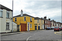 TG5307 : Houses, Lancaster Road, Great Yarmouth by Robin Webster