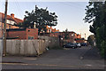 SP1193 : Rear of shops and cafés, evening, Wylde Green, northeast Birmingham by Robin Stott