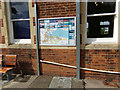 TM0932 : Manningtree Map at Manningtree Railway Station by Adrian Cable
