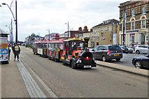 TG5307 : Road train, Marine Parade, Great Yarmouth by Robin Webster