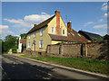 TL3938 : London Road, Barley by Hugh Venables