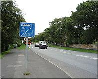 NZ2660 : Old Durham Road (B1296) by JThomas