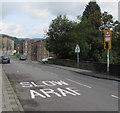 SS9390 : SLOW/ARAF on Tynewydd Row, Ogmore Vale by Jaggery