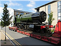 SU1485 : Steam locomotive moves in Swindon by Gareth James