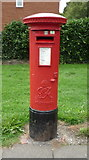 NZ2660 : George VI postbox on Beacon Lough Road by JThomas