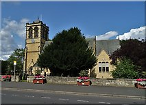 SE4245 : St Mary's Church, Boston Spa by Neil Theasby