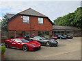 SU3008 : Ferrari dealership, Lyndhurst by Hugh Venables