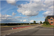 SU4338 : The A30 at the end of the A272 by David Howard