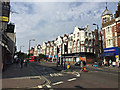 TQ3278 : Parade of shops, south end of Walworth Road, Walworth, south London by Robin Stott