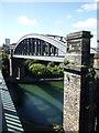 NZ3957 : Railway bridge over the River Wear, Sunderland by JThomas