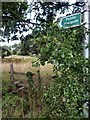 SK8573 : Stile access to an overgrown public footpath by Graham Hogg
