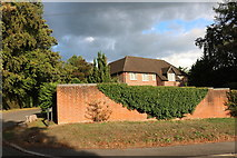 SU4563 : House on Andover Road, Wash Common by David Howard
