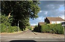 SU4564 : Warren Road at the junction of Andover Road by David Howard