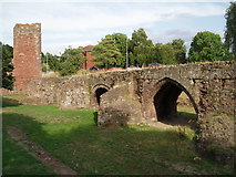 SX9192 : Exeter Old Bridge by Chris Andrews