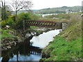 C1610 : Disused railway bridge over the River Swilly, Letterkenny by Humphrey Bolton