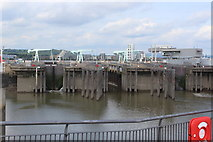 ST1972 : Locks, Cardiff Bay Barrage by M J Roscoe