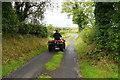 H3966 : Quad bike, Glennan by Kenneth  Allen