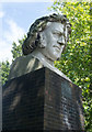 TQ3470 : Crystal Palace Park : Paxton bust by Julian Osley