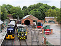 SK3899 : Heritage Railway at Elsecar by David Dixon