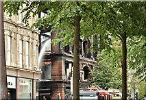 J3374 : Primark (Bank Buildings) fire, Belfast - August 2018(3) by Albert Bridge