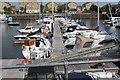 ST1872 : Pontoon, Portway Marina, Penarth by M J Roscoe