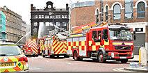 J3374 : Primark (Bank Buildings) fire, Belfast - August 2018(8) by Albert Bridge