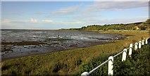 NU1535 : Budle Bay, south shore by Chris Morgan