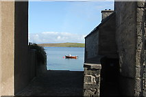 HU4741 : View from Commercial Street across to Bressay by Stuart Taylor