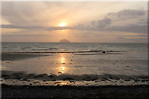 NX1896 : Sunset on Ainslie Shore by Billy McCrorie