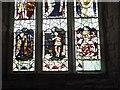 SO7031 : Beauchamp memorial window, St Mary's church, Dymock by David Smith