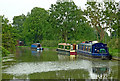 SP6889 : Grand Union Canal south-west of Foxton, Leicestershire by Roger  Kidd