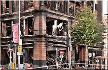 J3374 : Primark (Bank Buildings) fire, Belfast - August 2018(15) by Albert Bridge