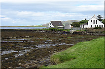 HY3613 : Low Tide at Finstown by Anne Burgess