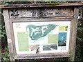 SU7093 : Information Board at Watlington Hill by David Hillas
