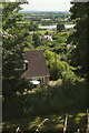 ST8032 : View from Castle Hill by Derek Harper